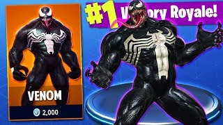 'NEW VENOM SKIN LEAKED''!!! fortnite bataille royale