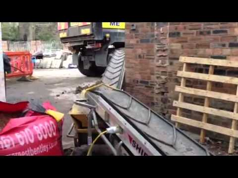 Rk Grabber Uses Conveyor Belts Of Excavation Youtube