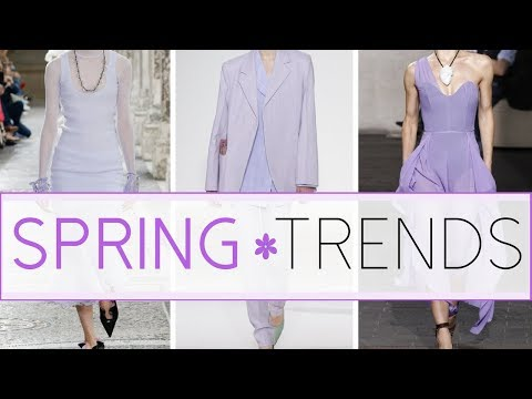 Top Ten Spring Fashion Trends 2018