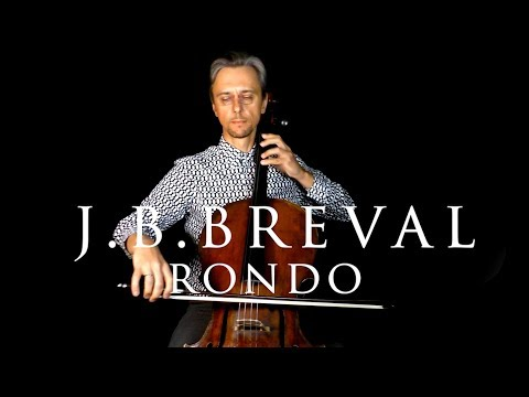 Breval Rondo Concerto D Major Fast And Slow Tempo