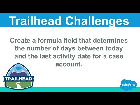 Create a formula field that determines the number of days between today and  the last activity date