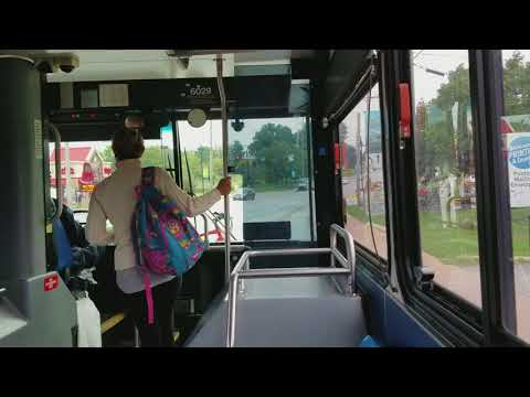 Leaving Cincinnati, Ohio on Go Metro Route 20. Part 2