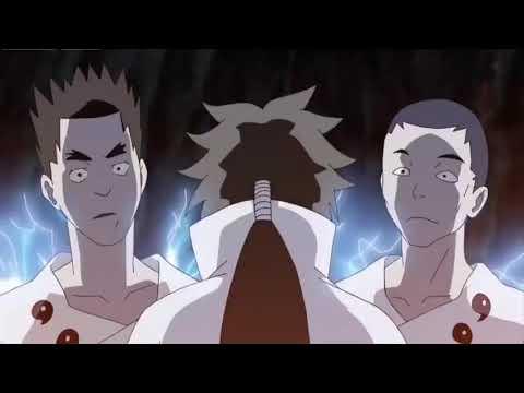 Indra awakening his mangekyo sharingan vs ashura(full fight sub english)