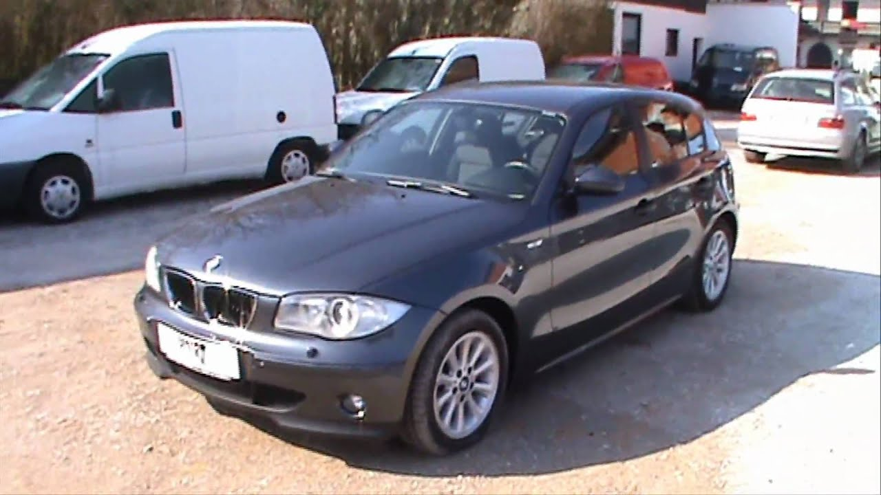 bmw 118d with xenon and parking sensors full review start