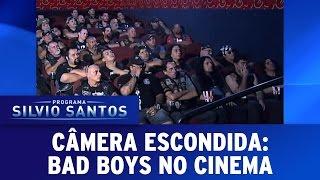 Bad boys no cinema | Câmeras Escondidas (23/04/17)