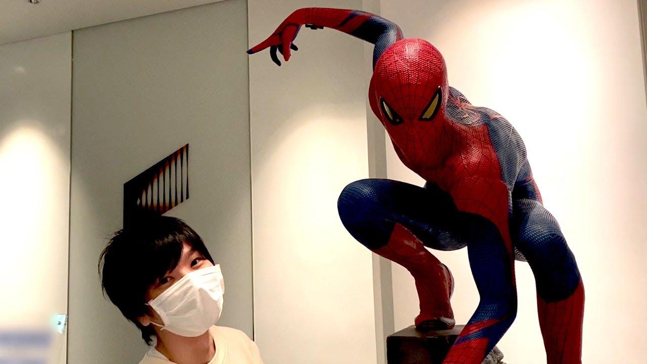 スパイダーマンがいたぞ!!!