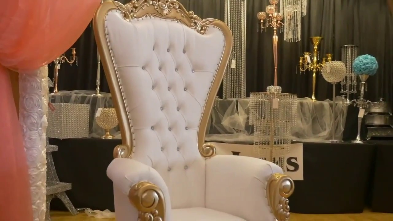 throne chairs for rent lazy boy swivel chair rental youtube