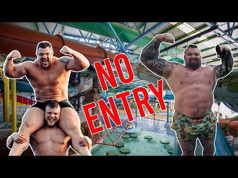 THEY CLOSED WATERWORLD JUST FOR US! - Ft. World's Strongest Man