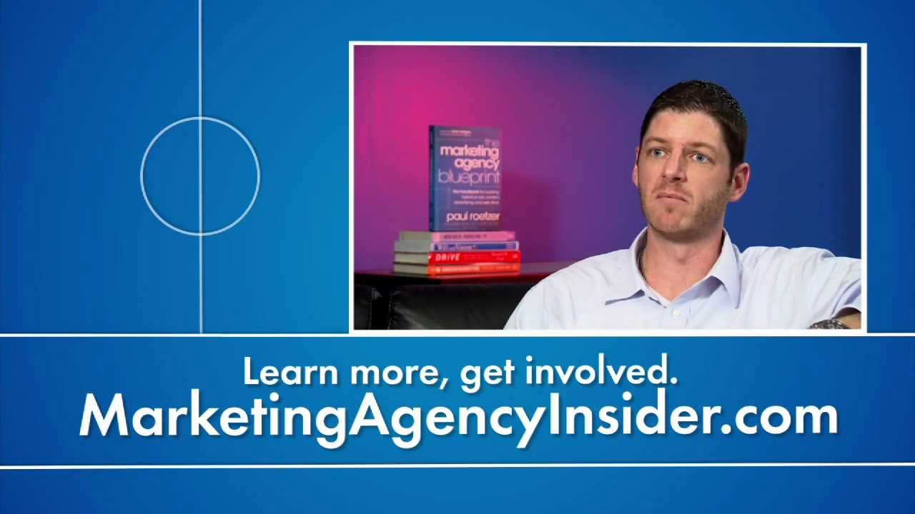 The marketing agency blueprint by paul roetzer youtube the marketing agency blueprint by paul roetzer malvernweather Choice Image