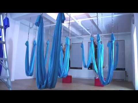 AntiGravity® Lab in New York City - Studio Creation Timelapse