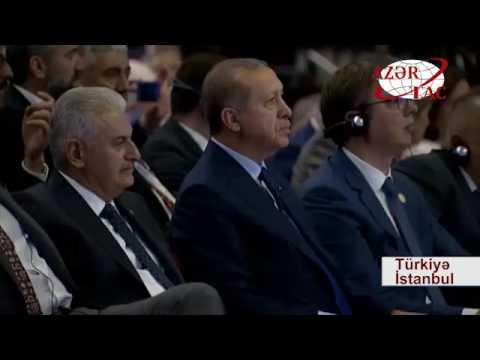 Prezident İlham Əliyev 22 ci Dünya Neft Konqresində prezidentlərin tədbirində iştirak edib