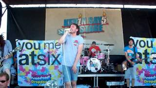 You Me At Six - Finders Keepers- Vans Warped Tour Kansas City 2009
