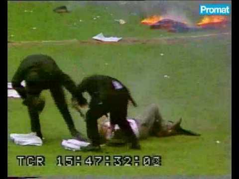 Fire On A Football Match.avi