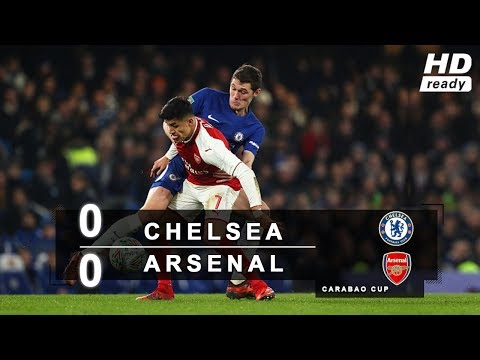 Chelsea vs Arsenal 0-0 All Goals & Highlights HD