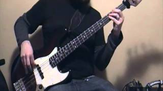 3 Inches Of Blood - Metal Woman (Bass Cover) - Power Metal Bass Lesson