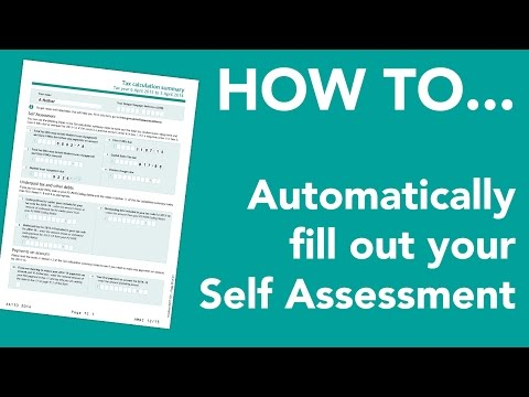 How to automatically fill out your expense data for your HMRC Self Assessment with 1tap receipts