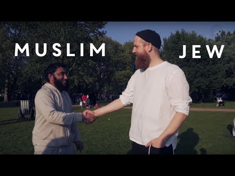 A Jew and Muslim DON'T argue at Speakers Corner