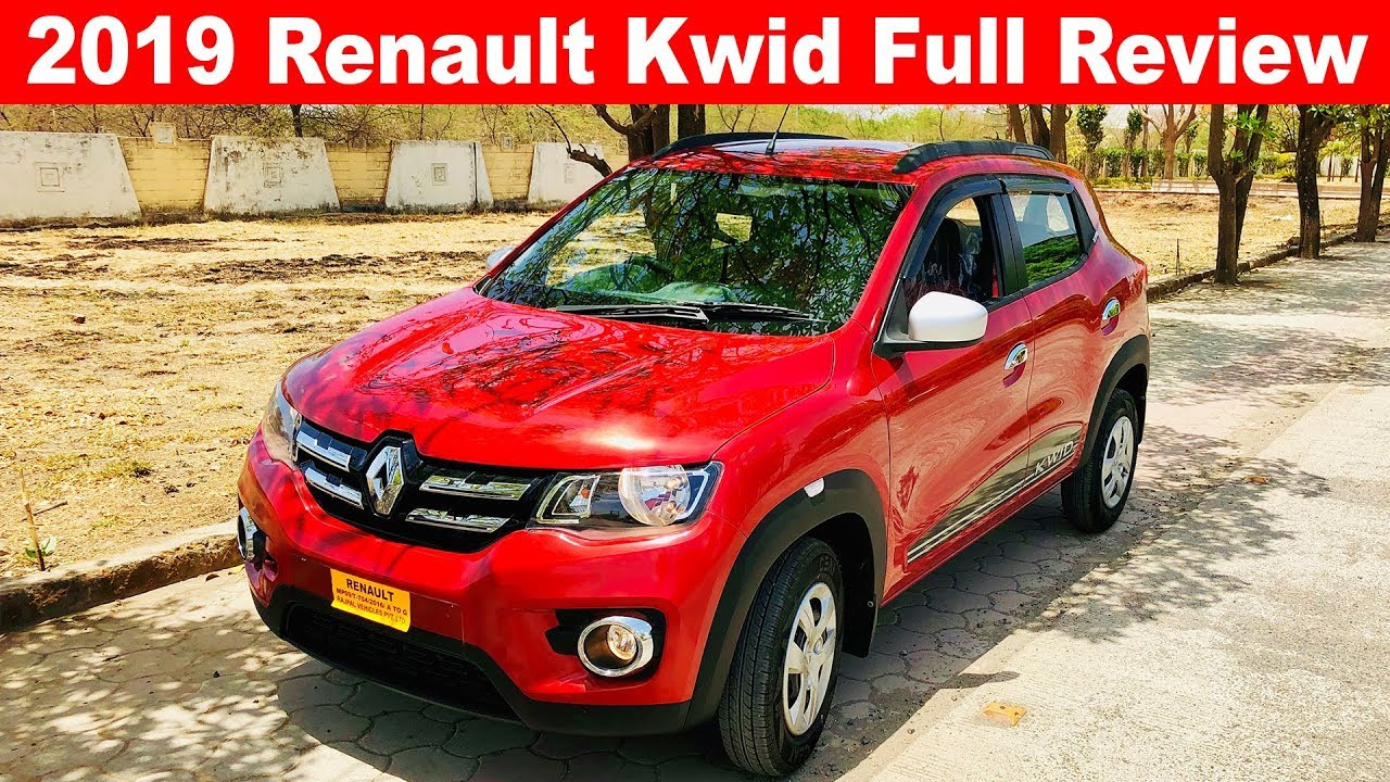 2019 Renault Kwid Full Review l Sporty Car Under 5 Lakh ...