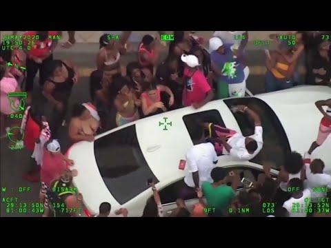 Video Shows Daytona Beach Event Disaster