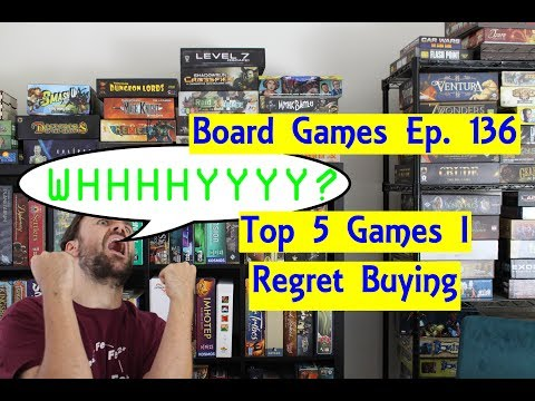 Top 5 Games I Regret Buying