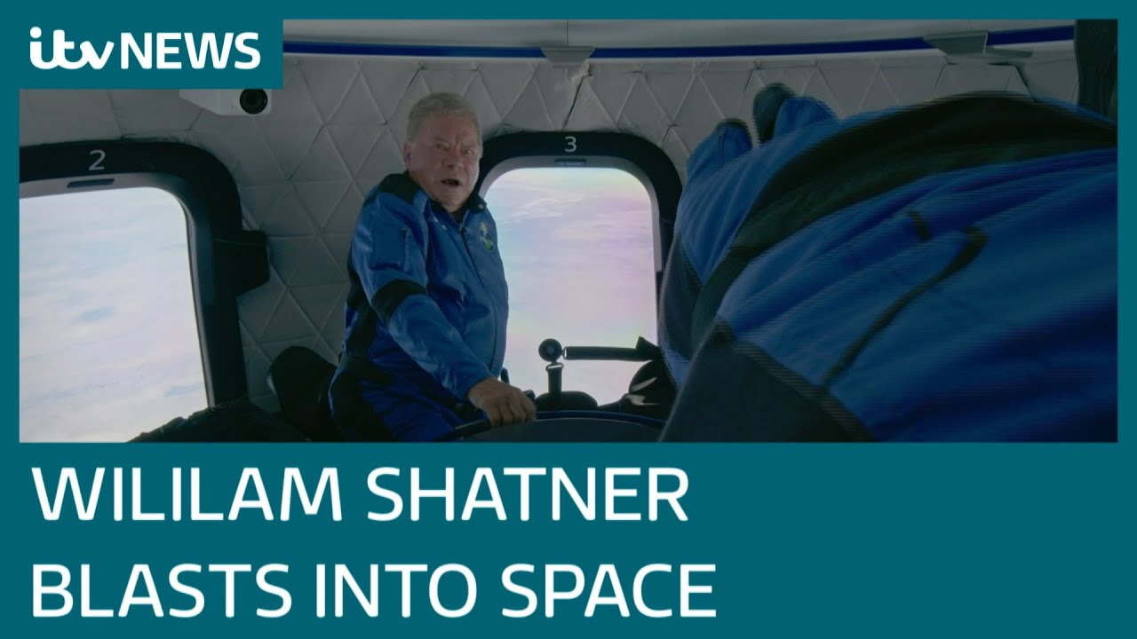 William Shatner is now the oldest person ever to go to space
