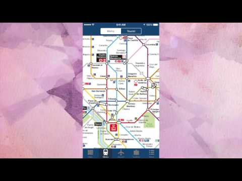 Madrid Offline Travel Map App