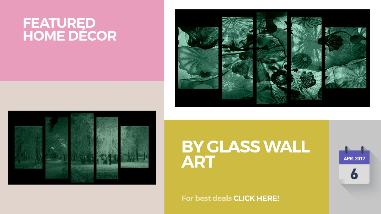 By Glass Wall Art Featured Home Décor - YouTube