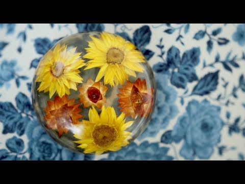 EASY DIY! Dried Flowers in Resin!  🌼🌿// Garden Answer