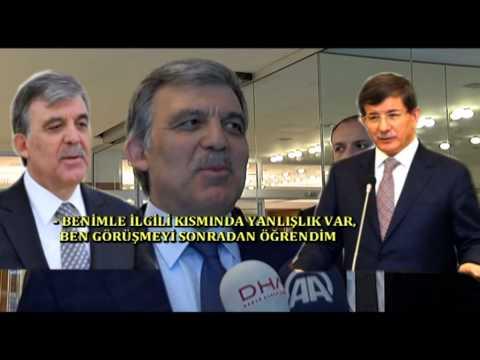 Fethullah Gülen Ahmet Davutoğlu