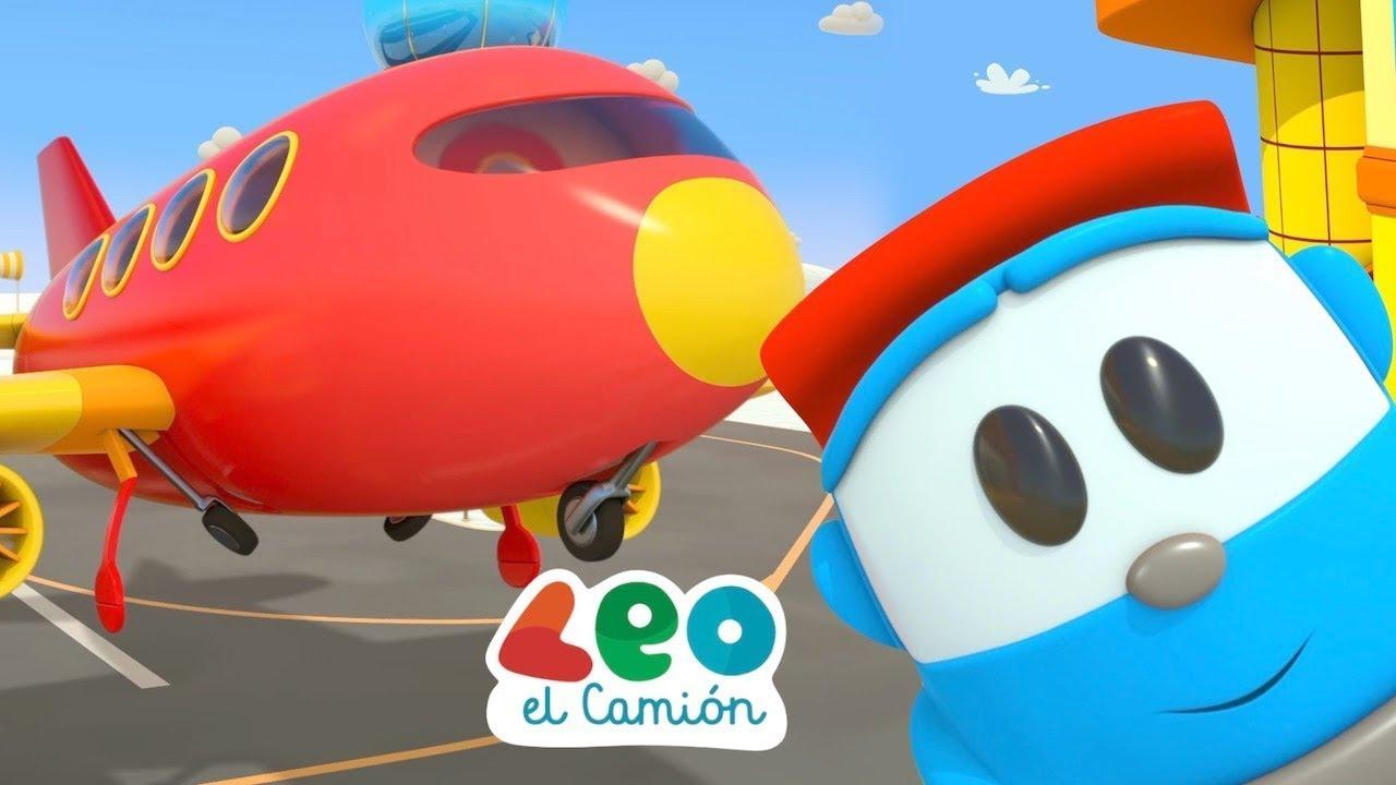 Leo el Camión - Leo y el Aviador de Cometas - Leo y la Fuente - Capítulos Nuevos en español
