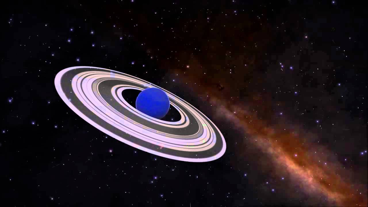 Gas Giant Planet with Ring. - YouTube