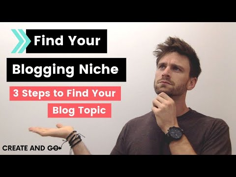 How to Find Your Blogging Niche: 3 Steps to Choosing a Blog Topic