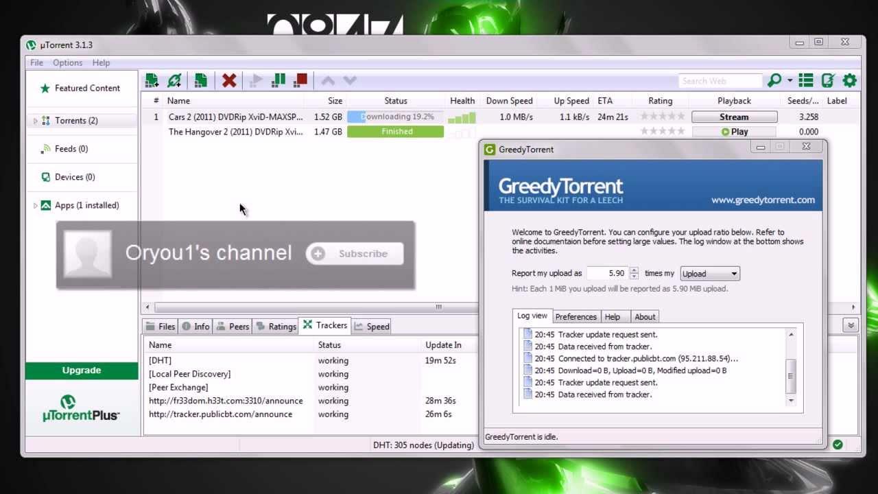 gratuit utorrent 3.1.3