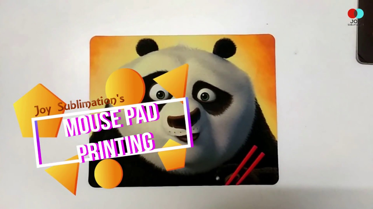 sublimation mousepad printing 2018