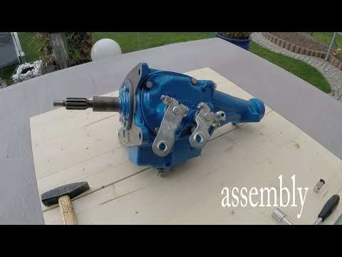 Chevy 3 speed manual transmission assembly
