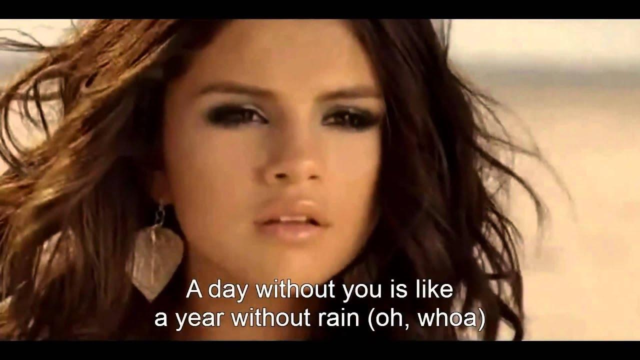 Selena Gomez - A Year Without Rain Lyrics | MetroLyrics