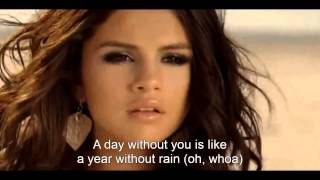 Selena Gomez & The Scene ~ A Year Without Rain (Lyrics Sub. English/Inglés) [HD]