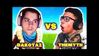 DAKOTAZ vs IMTHEMYTH (Fortnite Battle Royale Top Players #3) Fortnite Epic & Best Moments