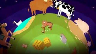 Развивающий мультфильм домашние животные для самых маленьких детей на русском учимся