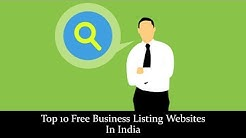 Top 10 Free Business Listing Websites In India