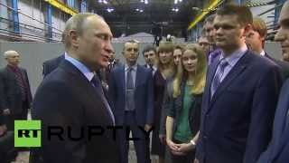 Russia: Putin inspects new IFV based on T-14 Armata platform