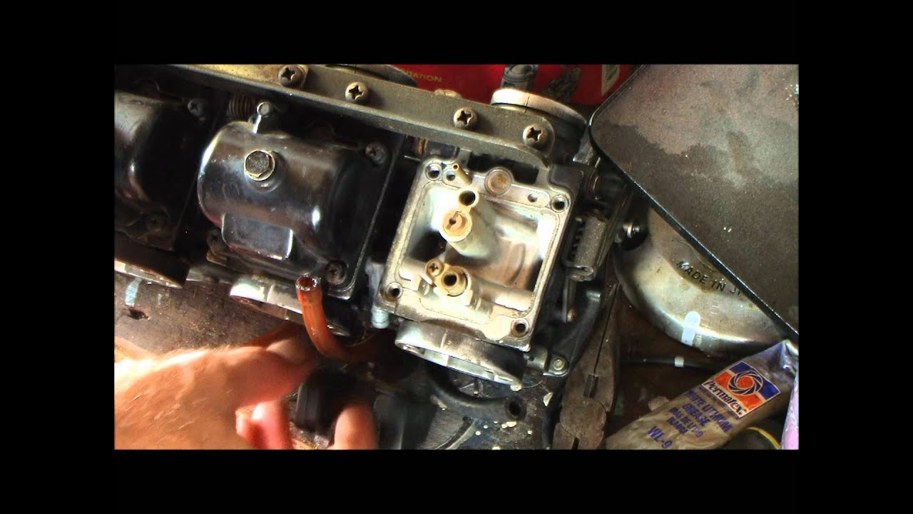 Quickie go through Yamaha XS850 Triple and XS1100 carbs