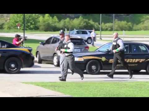 Active Shooter Drill at Boyd County High School