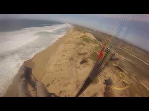 Paragliding at Sand City, California