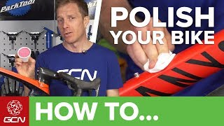 How To Make Your Bicycle Frame Look Like New