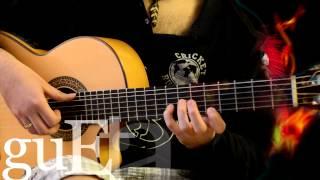 Испанский танец Сальвадор (каденция)(Курс игры на гитаре: http://www.guetarist.ru/kurs.html Гитары Crafter: http://bit.ly/1OPIGaO Вы можете отблагодарить за разборы небольш..., 2015-01-03T14:58:53.000Z)