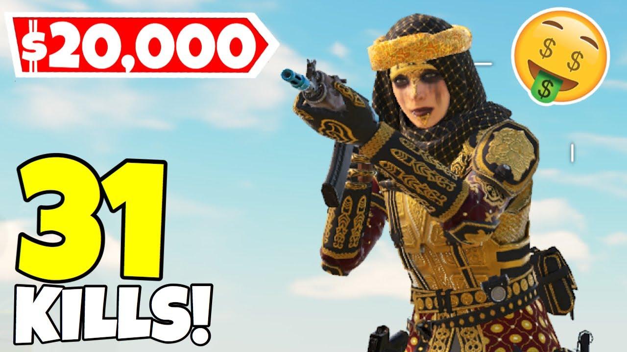SPENDING 20,000 ON NEW ZERO SULTANA SKIN + GAMEPLAY IN CALL OF DUTY MOBILE BATTLE ROYALE!