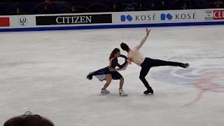Gabriella Papadakis / Guillaume Cizeron 2018 World Championships FD (World Record) Fancam
