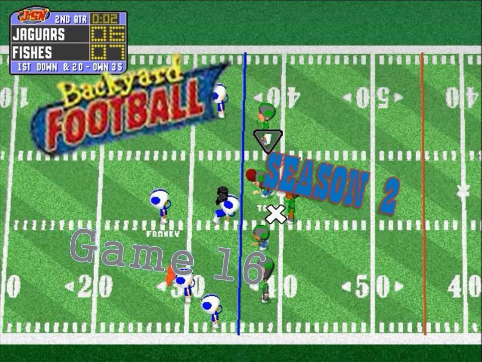 Backyard Football 1999 (PC) (SEASON 2) Game 16: Swimming ...
