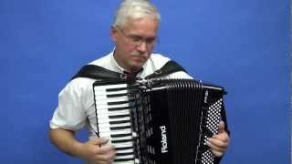 Wiązanka melodii włoskich - cover by Antoniusz - akordeon Roland FR-3x cz.4 accordion